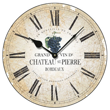 "Chateau St Pierre 14"" Wall Clock"