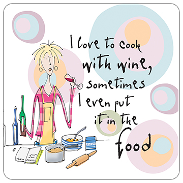 I Love to Cook With Wine