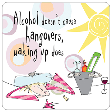Alcohol Doesn't Cause Hangover
