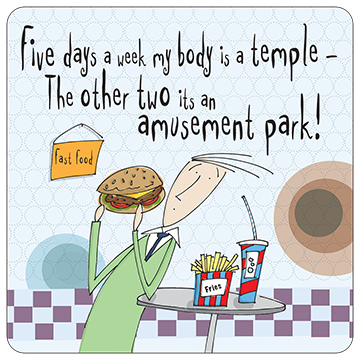 Five Days a Week Body is a Temple