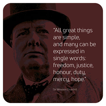 Winston Churchill - Great Things are Simple