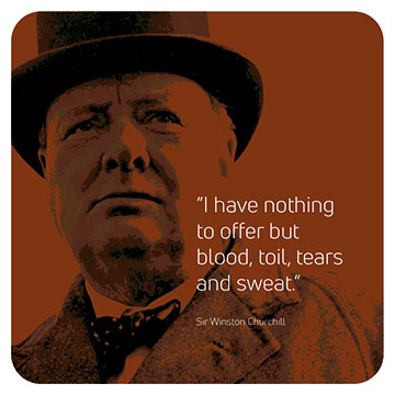 Winston Churchill - I Have Nothing to Offer